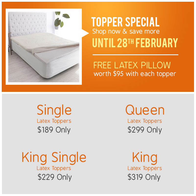 Toppers Promo